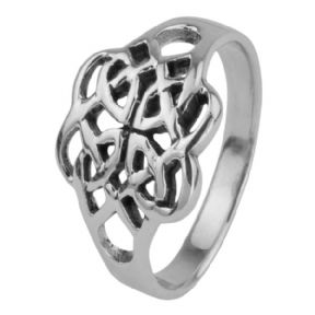 Celtic Silver Ring 0349